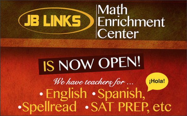JB Links Math Enrichment Center | Tutor